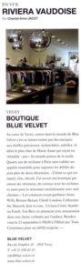 """Article du Magazine """"Trajectoire"""""""